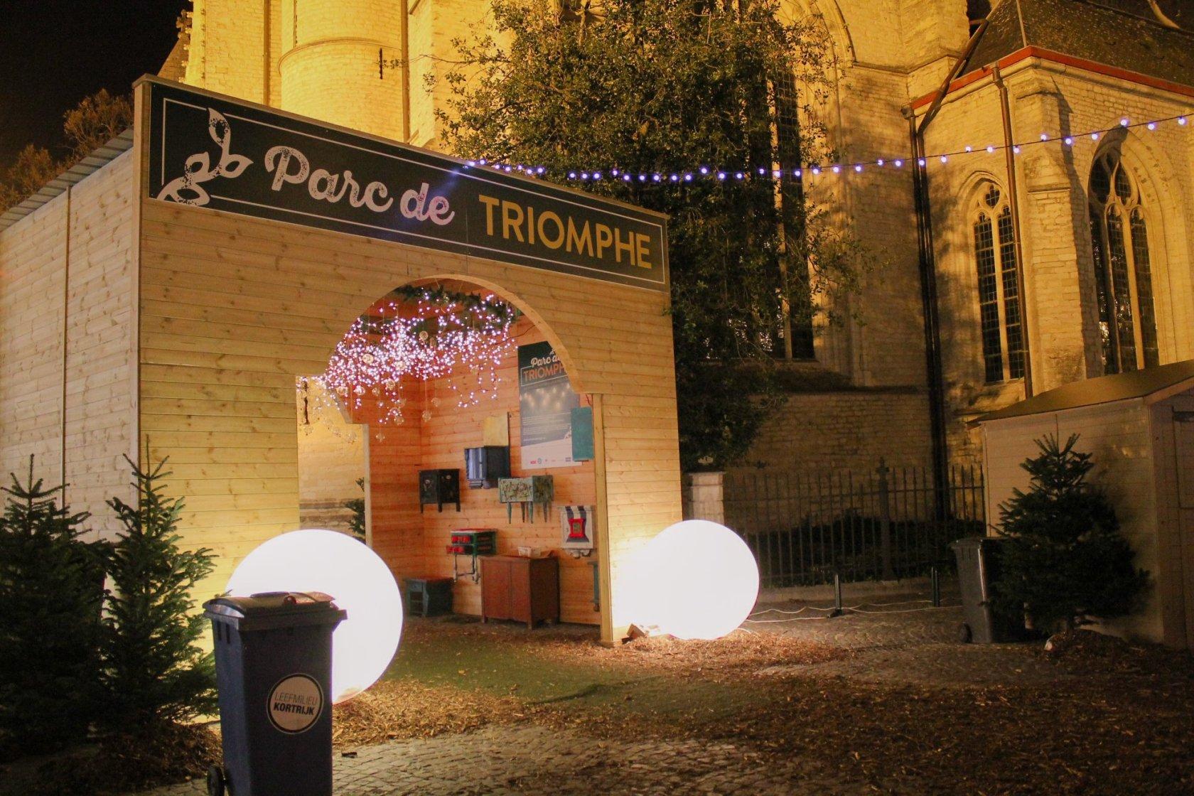 Parc de Triomphe - 'Het enige wat verdubbelt als je deelt, is geluk.'
