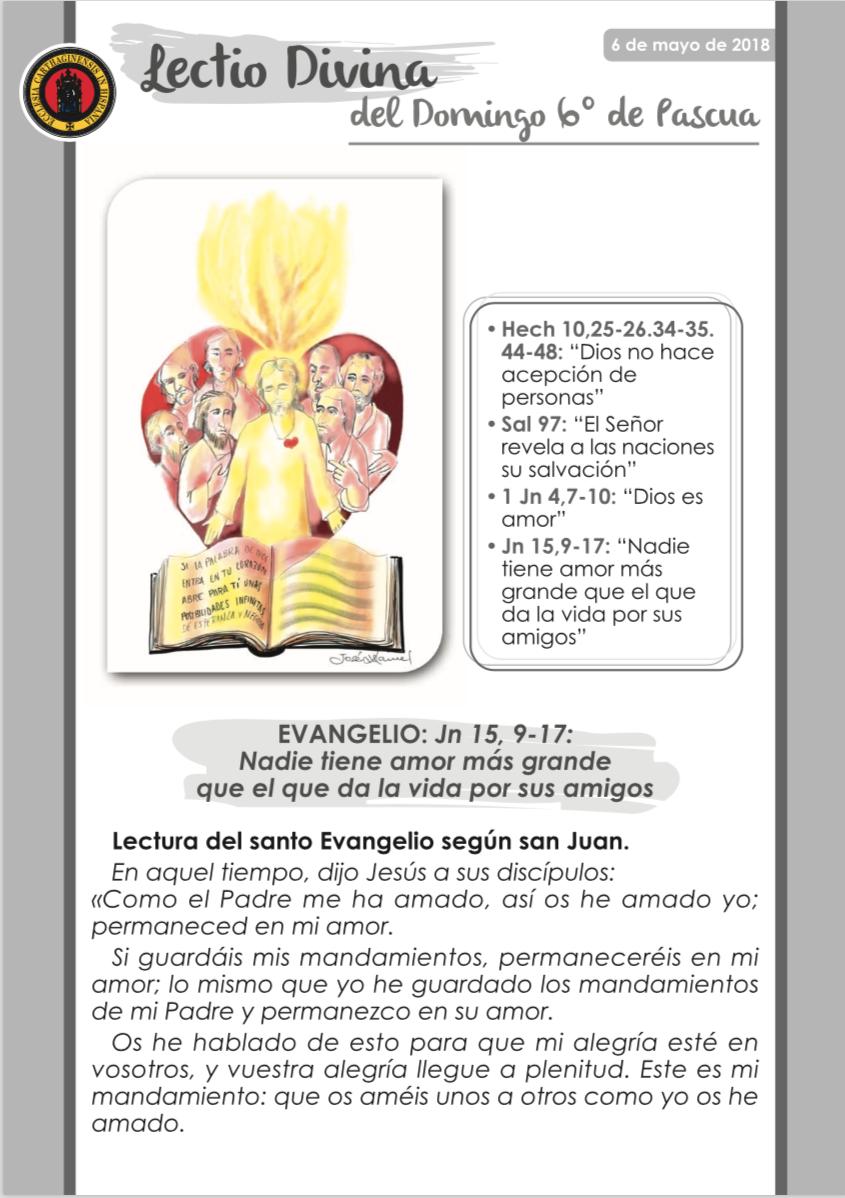 6º Domingo de Pascua