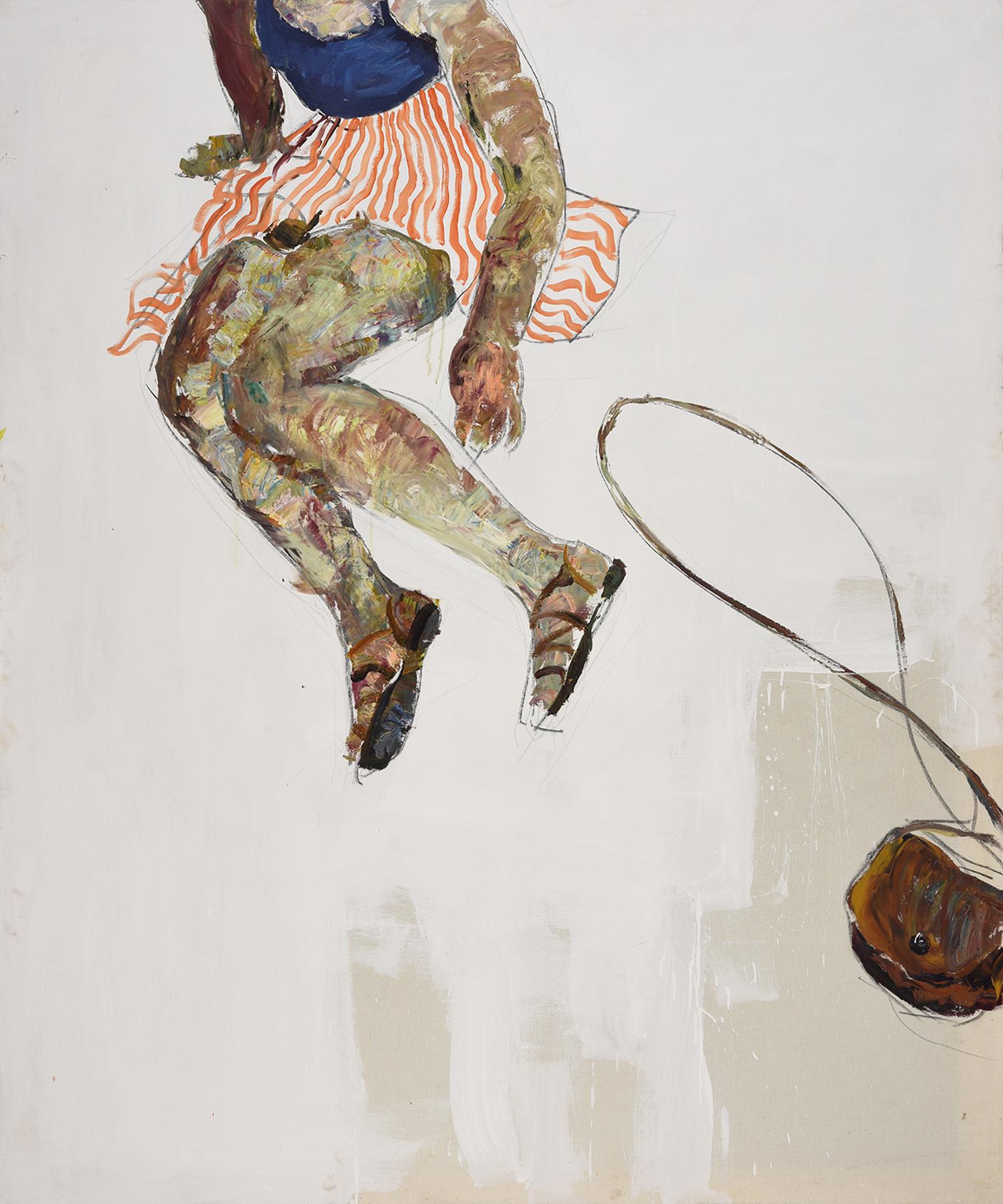 Paula , 180 x 150 cm, oil on canvas, 2017.