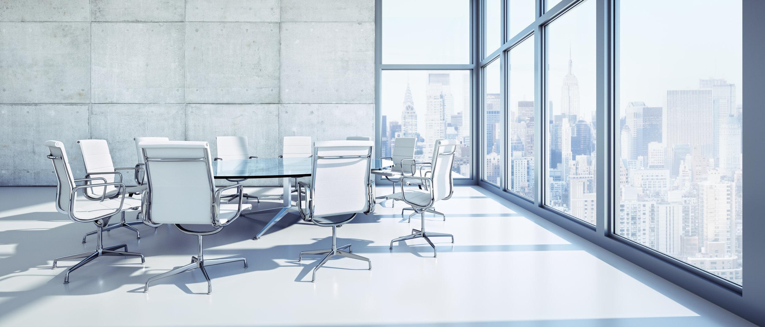 Meeting Room im Hochhaus