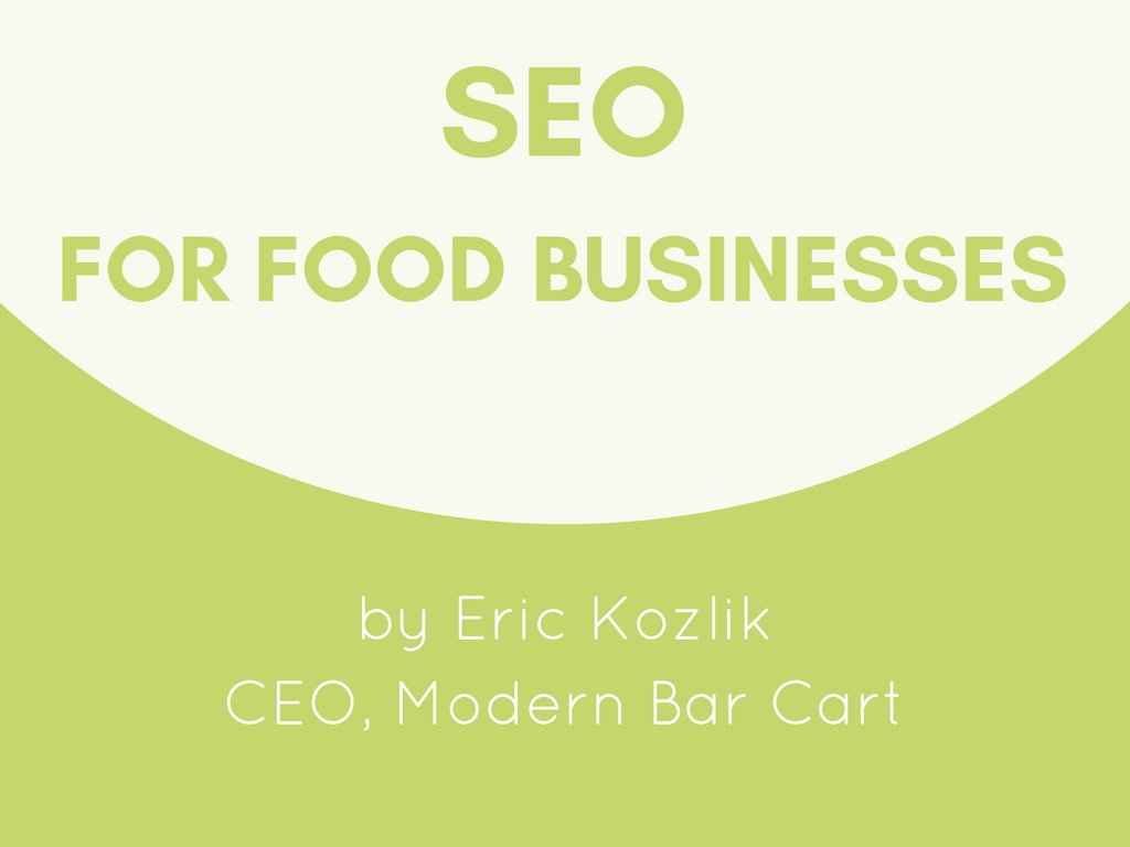 SEO For Food Businesses
