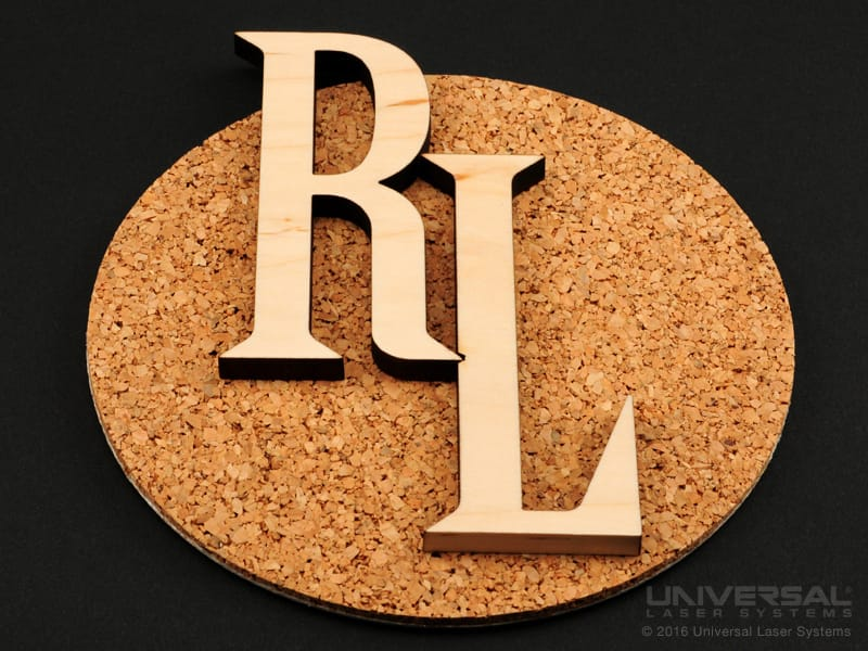 natural_(organic)_materials_wood_laser_cutting_letters_with_a_10.6_micron_co2_laser
