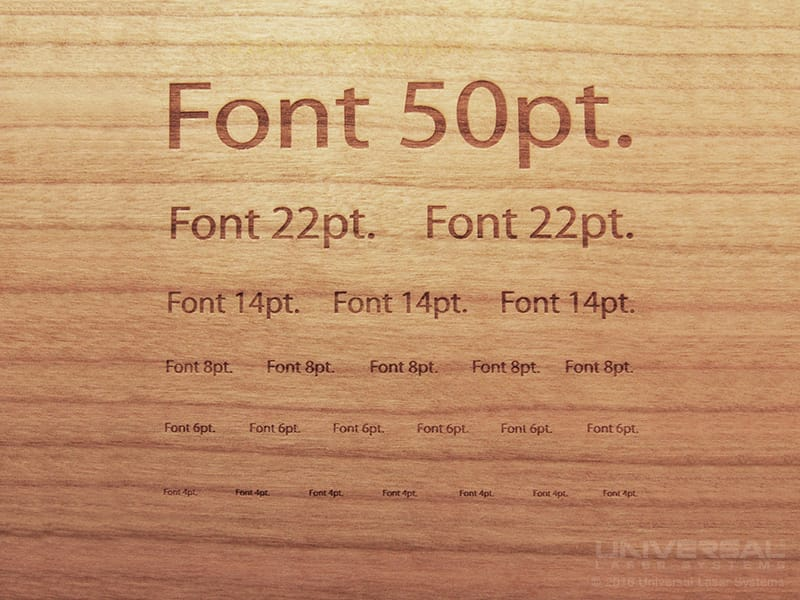 natural_(organic)_materials_wood_laser_engraving_lettering_with_a_10.6_micron_co2_laser