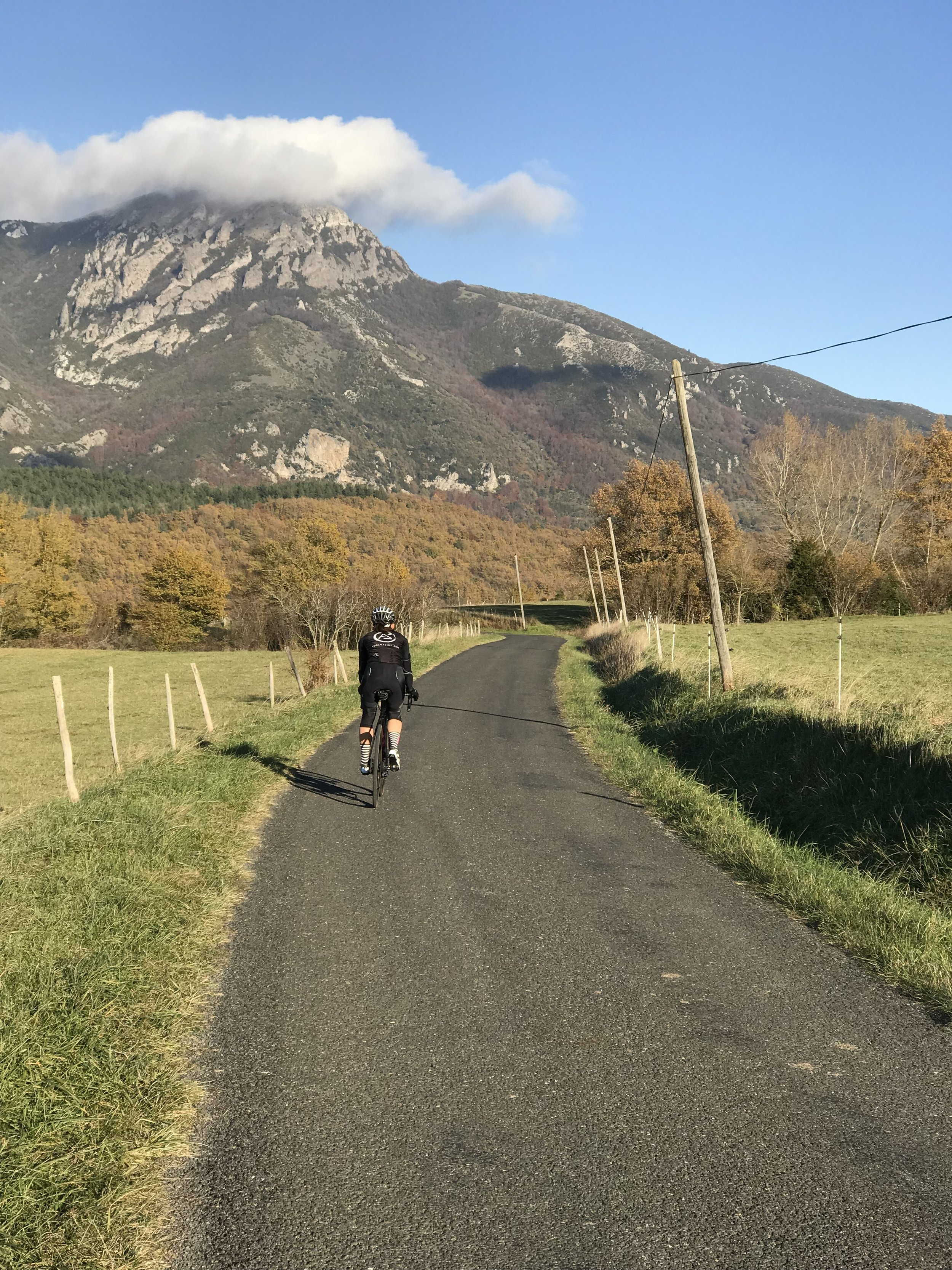 The roads in the Languedoc Region are quiet, scenic and well-maintained.