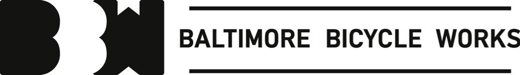 Baltimore Bicycle Works black logo horizontal.jpg