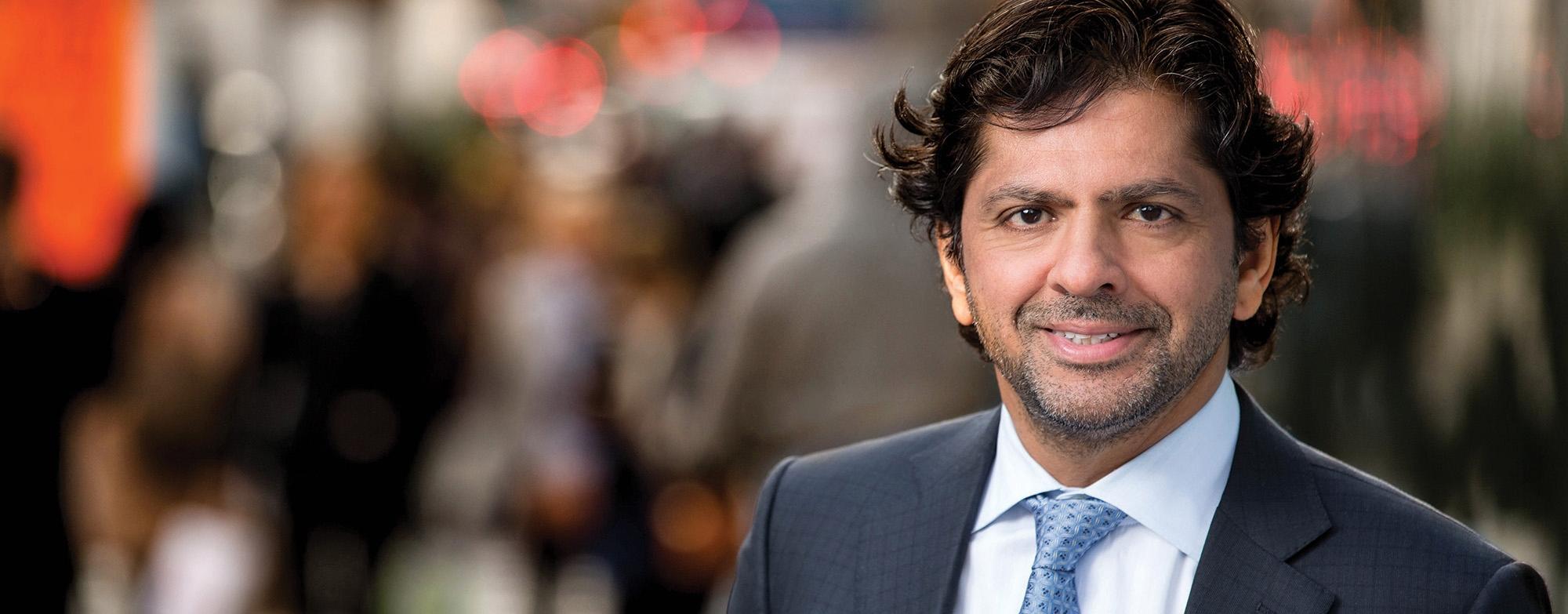 Reaz Jafri, CEO
