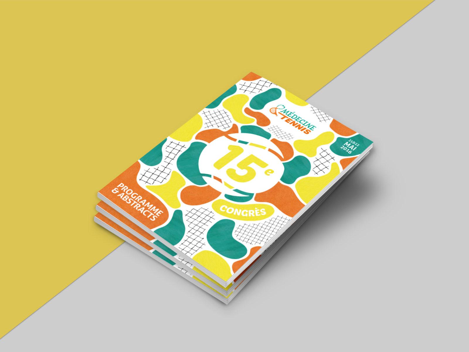 Programme - Programme de la 15e édition comprenant 48 pages en noir et blanc avec couverture et encarts publicitaires en couleur.