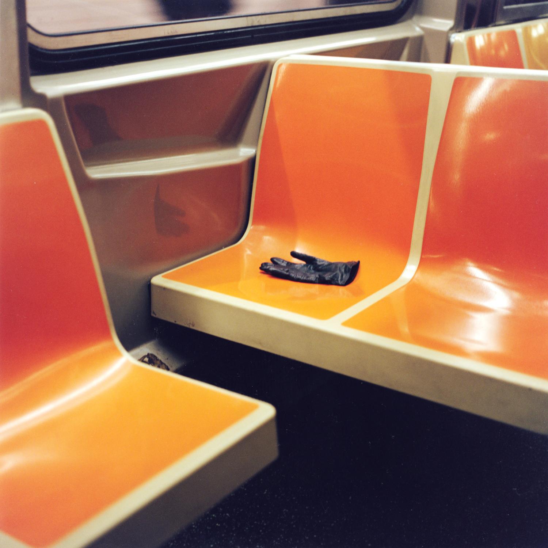 Found: Dark Green Leather Glove; B-Train Southbound