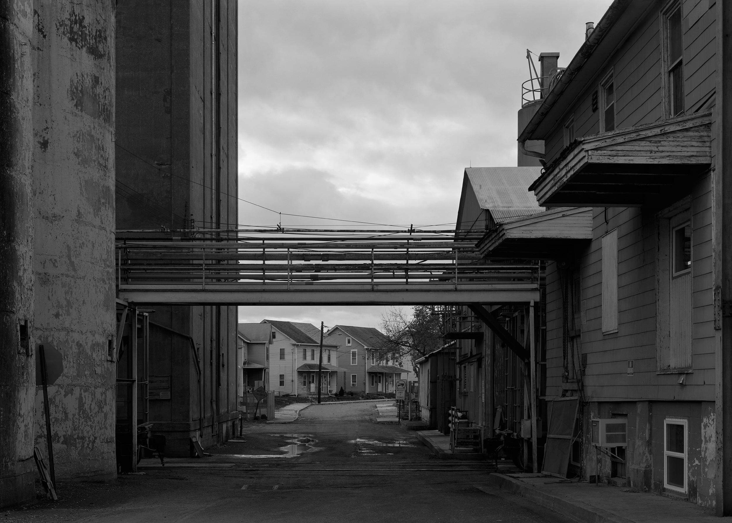 Westward View from Jury Street, Highspire, Pennsylvania
