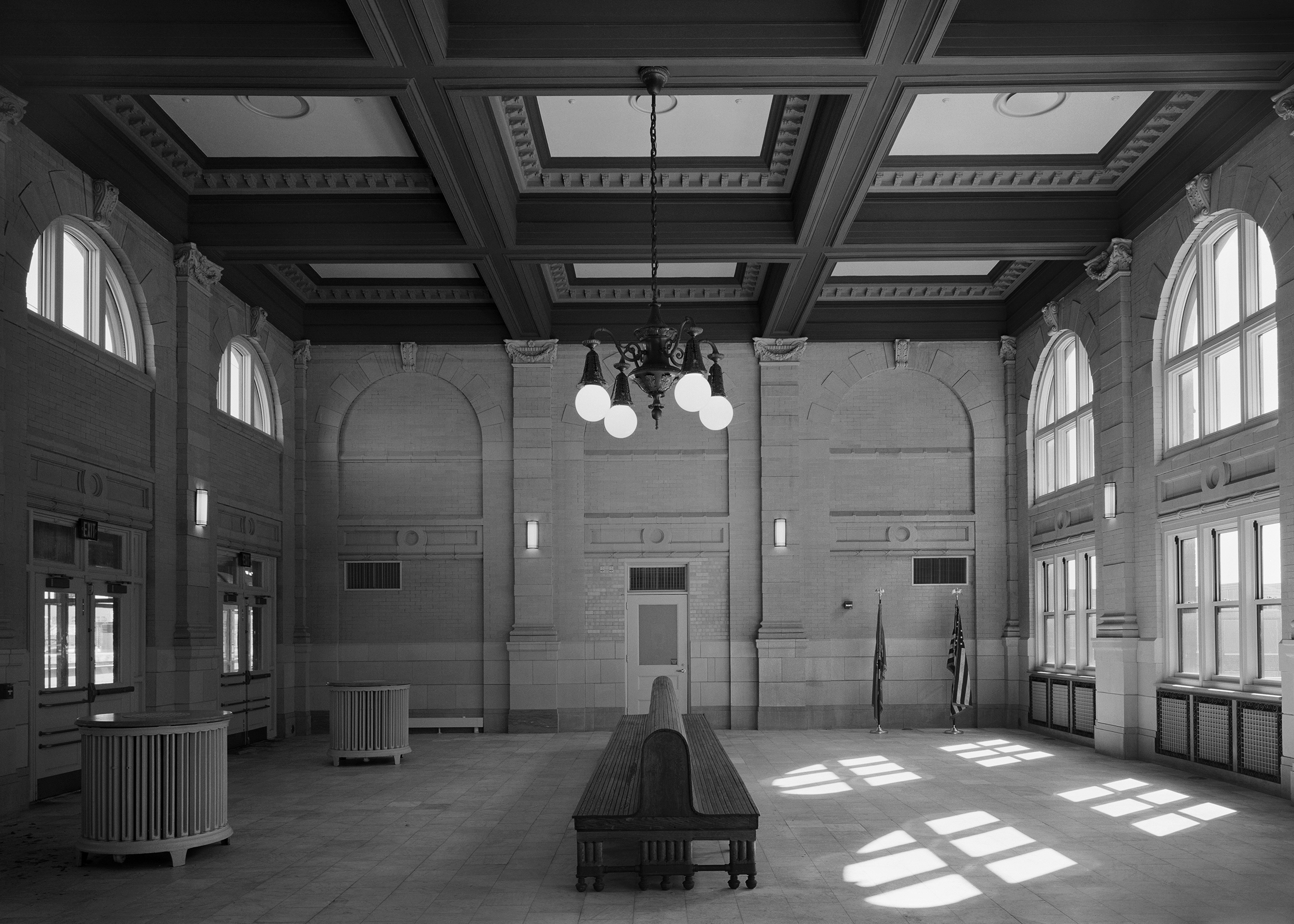 Northbound Waiting Room, Pennsylvania Station, Wilmington, Delaware