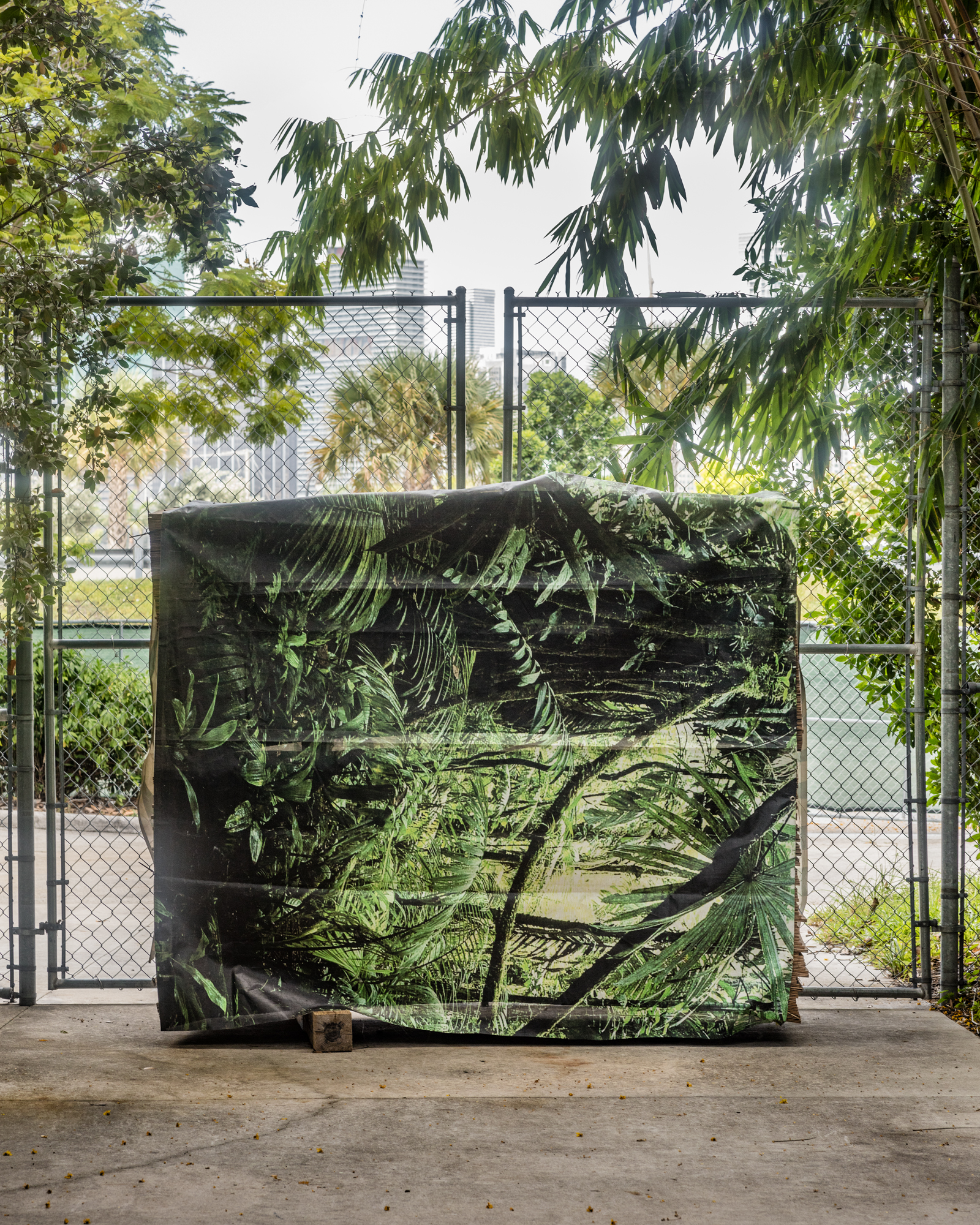 Camouflage, 2017 (from the project FloodZone)