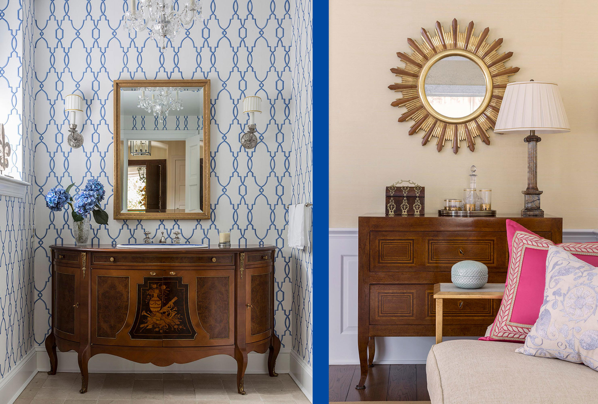 Stylish side tables and displays