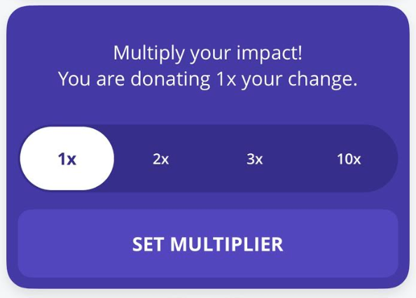 Coming soon for Android users - already in place for iPhone users - increase your impact with this multiplier tool!