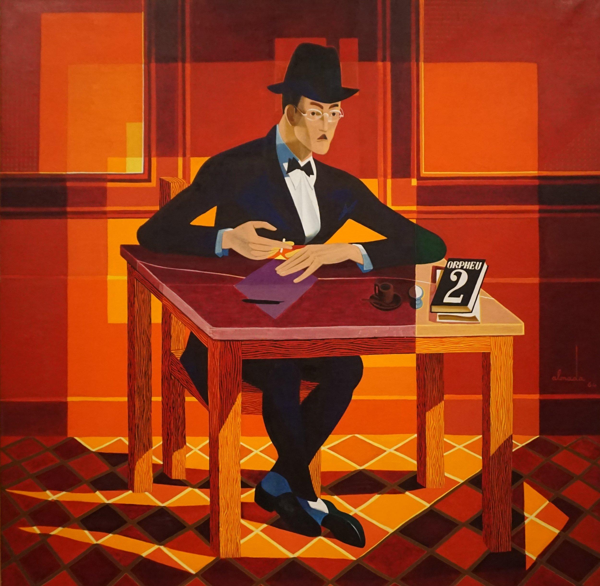Retrato de Fernando Pessoa - José de Almada Negreiros, 1964