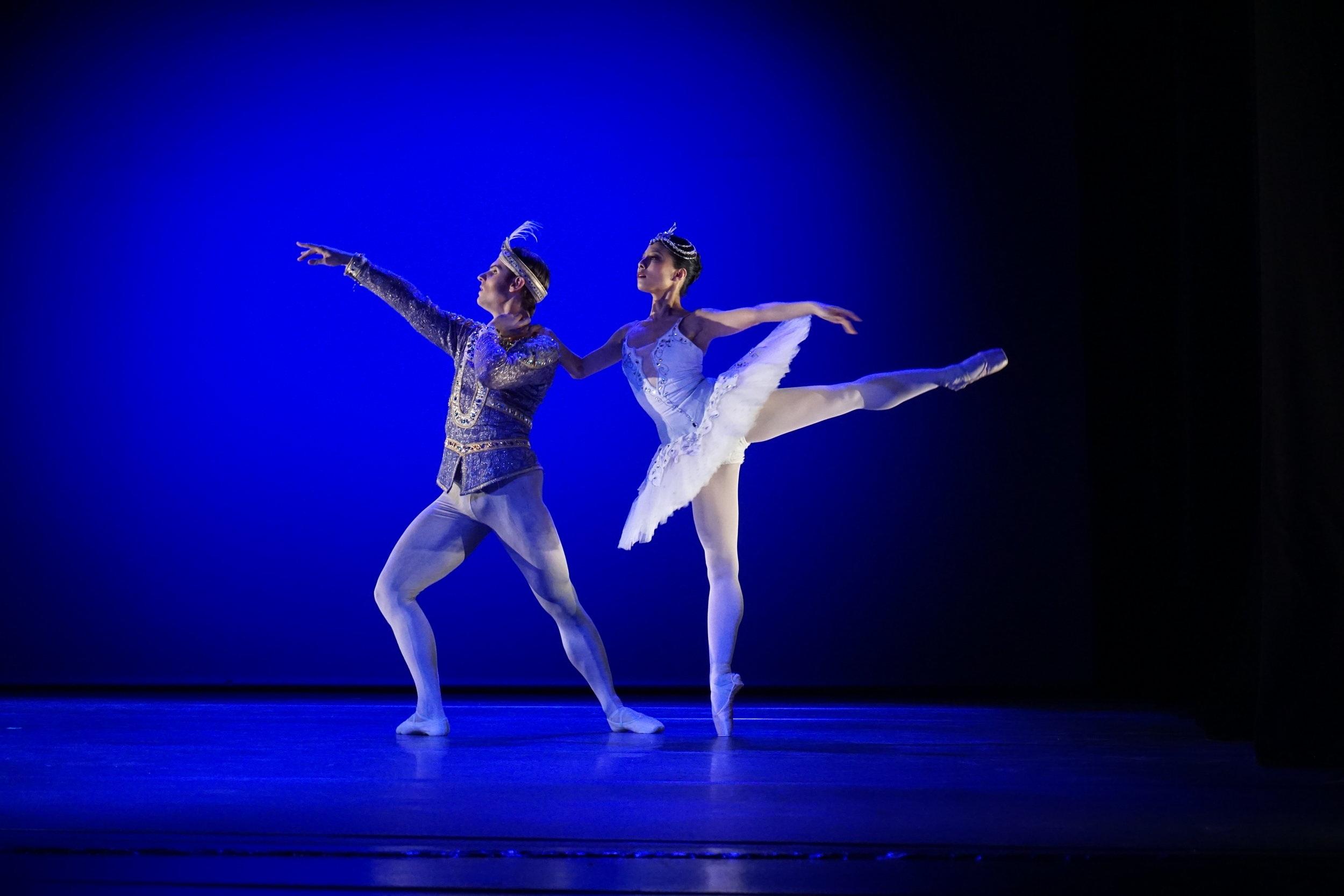 Michal Krčmář ja Hanako Matsune, Pas de deux baletista Bajadeeri, 3.3.2019.