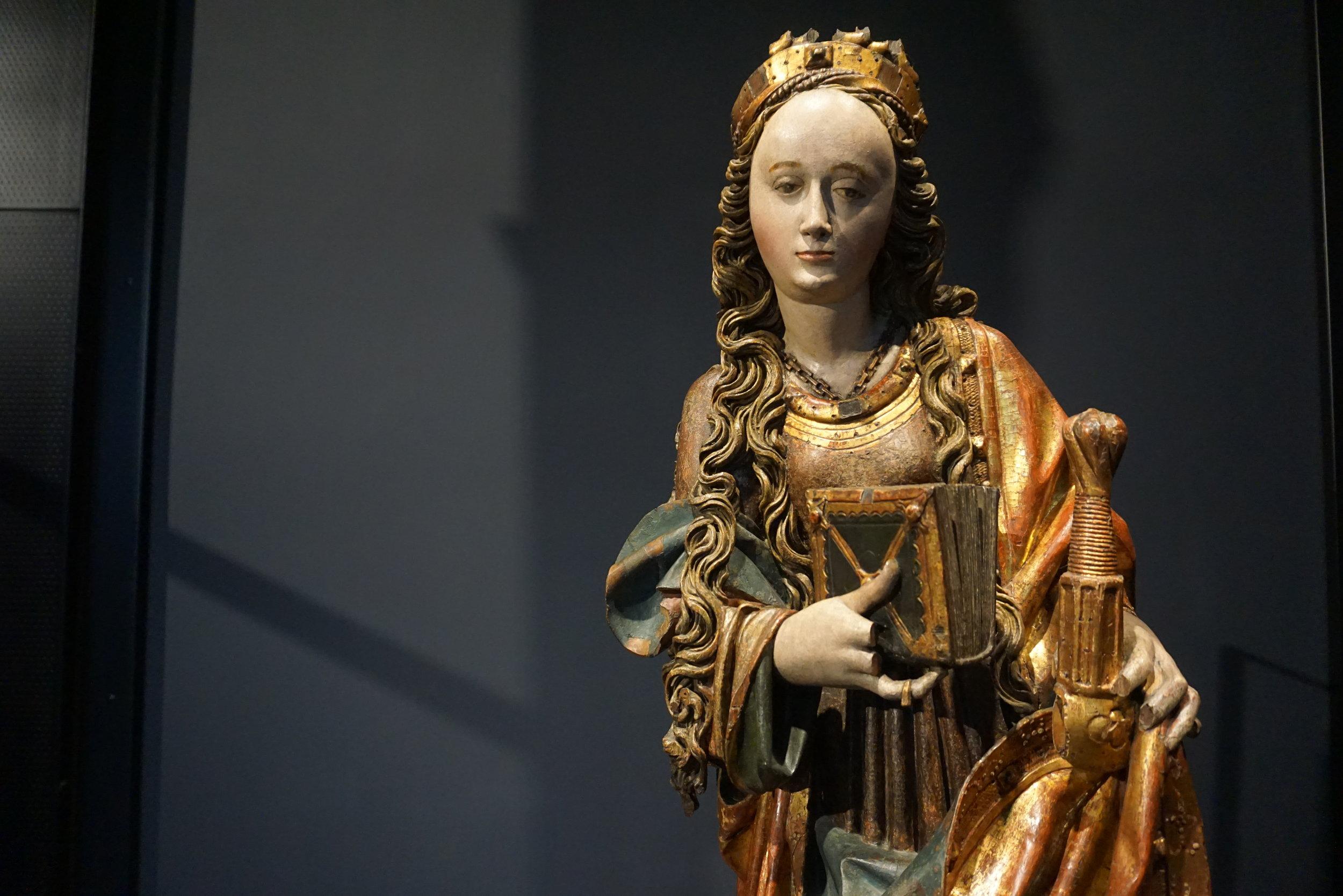 Saint Catherine of Alexandria, 1509?