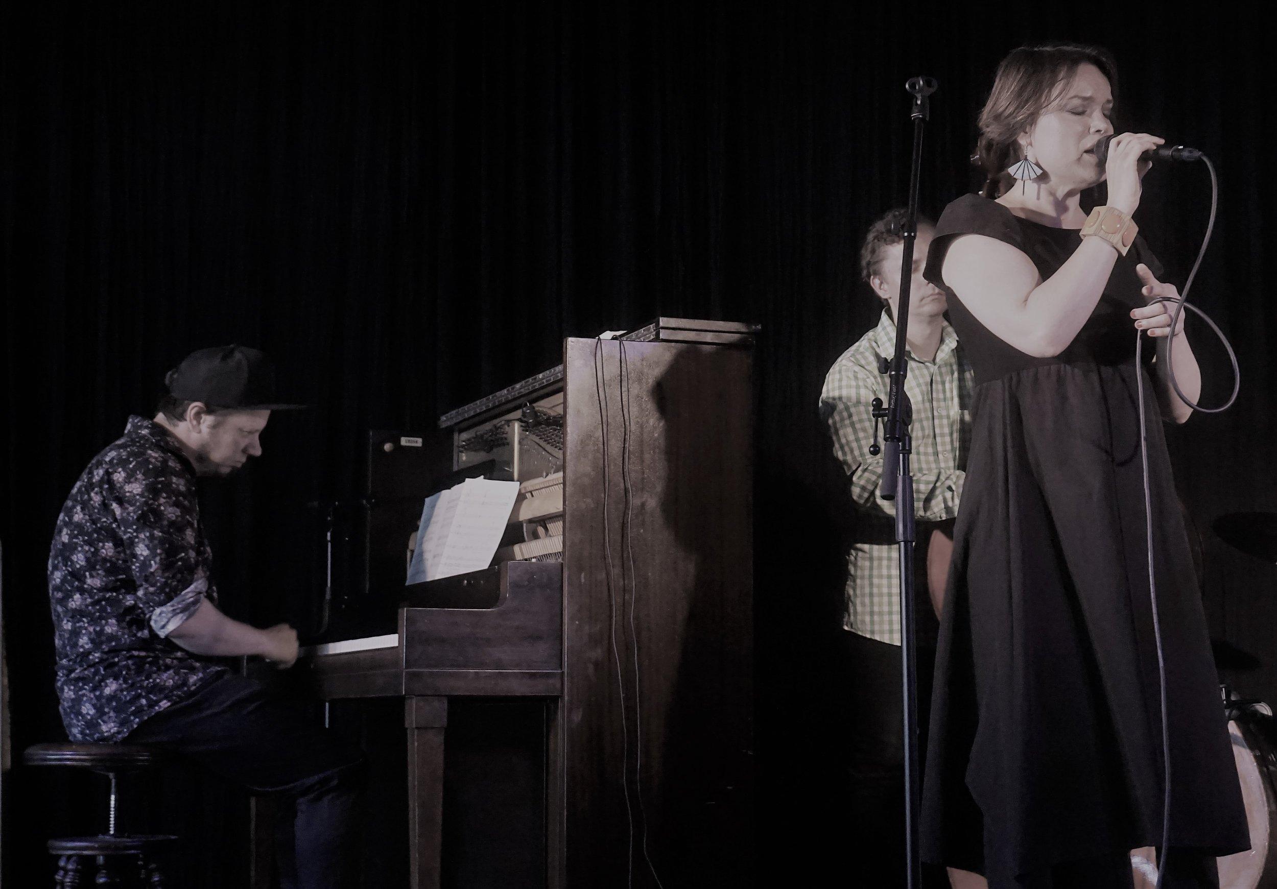 Emma Salokoski & Ilmiliekki Quartet, Saaristokeskus, 27.7.2019, Korppoo