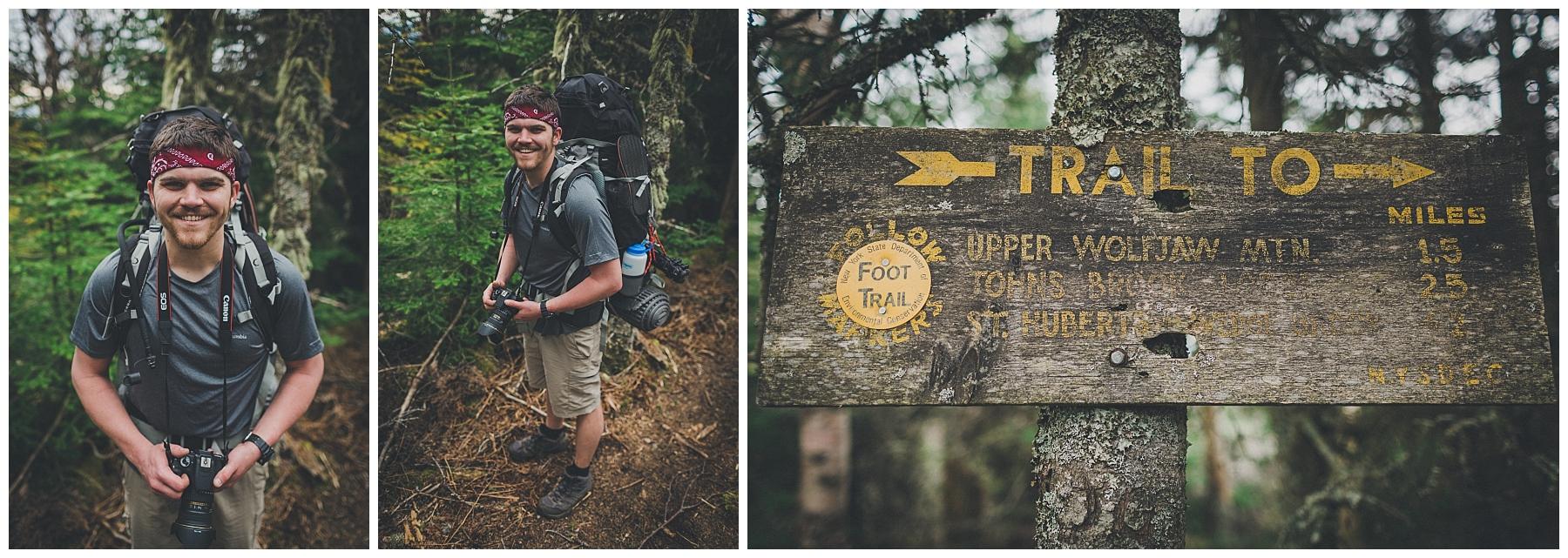 Mid-trail portraits