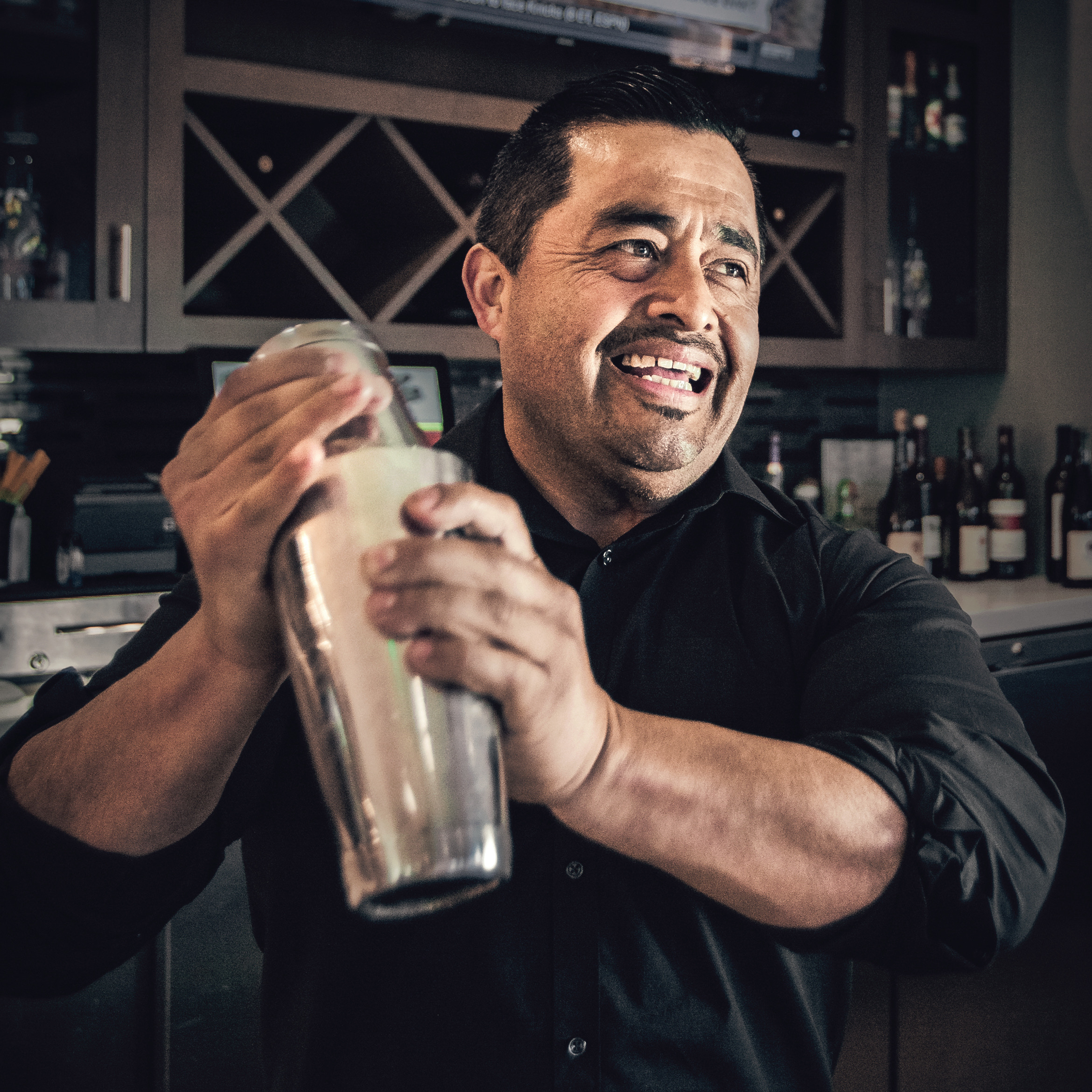 Food & Beverage Director Alex Martinez - Mixologist Alex Martinez has worked together with Chef Ofelio for the last 13 years. He has over a decade of experience managing restaurants and training a dedicated hospitality team to deliver the utmost level of service. He's motivated to please and will always go the extra mile to exceed his guests' expectations.Alex takes great pride in crafting seasonal cocktails using fresh, house-made ingredients from local farmers and partners with local distilleries to source many of their spirits. All syrups and juices are made from scratch and each cocktail is thoughtfully prepared by Alex and his team to deliver only the highest quality drinks made with care.
