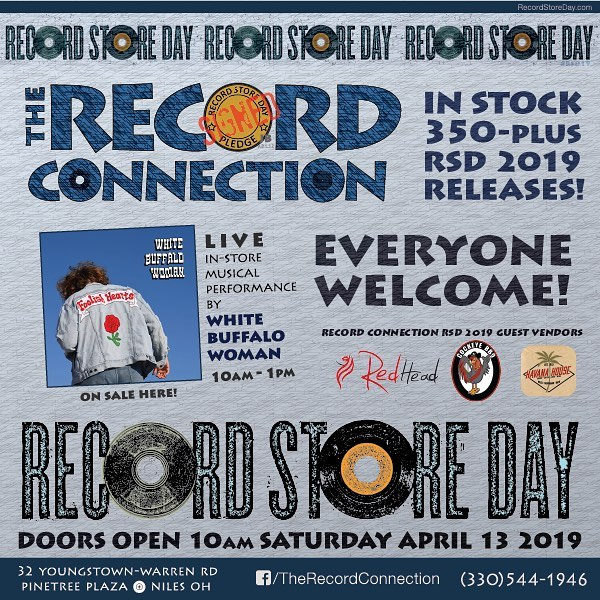 We will see you guys at The Record Connection in Niles this Saturday for @recordstoredayus we start at 10am! #wbw #recordstoreday #therecordconnection #buyvinyl #vinyl #vinylcollection #nilesohio