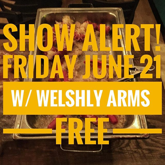 🚨LAST MINUTE SHOW ALERT 🚨 We are opening up for @welshlyarms on Friday night. FREE SHOW Starts at 7pm. We are beyond stoked for this one yall.  More info -  This is a FREE outdoor show between @theauricleoh & @George's lounge in Canton, OH!  Sponsored by @quonset_hut  Brought to you by @artsinstark, SID, @visitcanton, @thesummitfm & @celebrityetc  Show starts at 7pm. Food & Adult beverages will be available!  @ The Auricle - Venue & Bar  The Summit presents Welshly Arms - FREE SHOW!