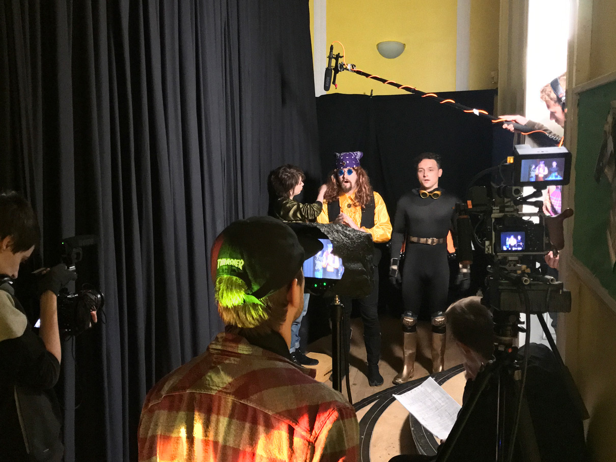 Behind the scenes of The Film Look Day 3 of Backstage