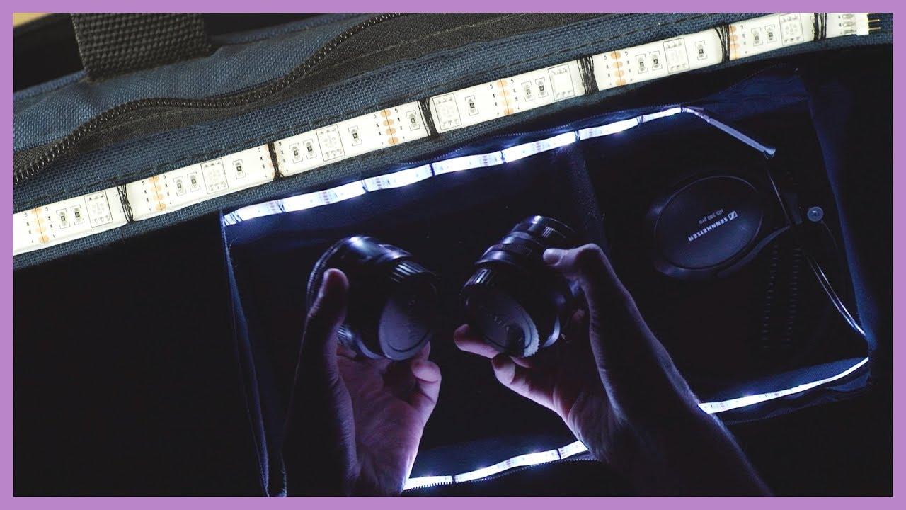 Light up your camera bag
