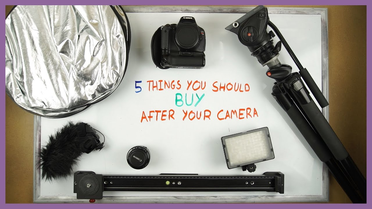 What to Buy after your Camera