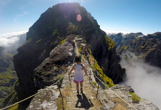 REDBULL.COM #EPIC VIDEO - Grab the audience by the hand and take them incredible places with incredible people. That was the idea behind this shoot with the trail runner Leire Fernandez. She ran across the island while I ran behind her armed with a camera and a gimbal – just more out of breath.