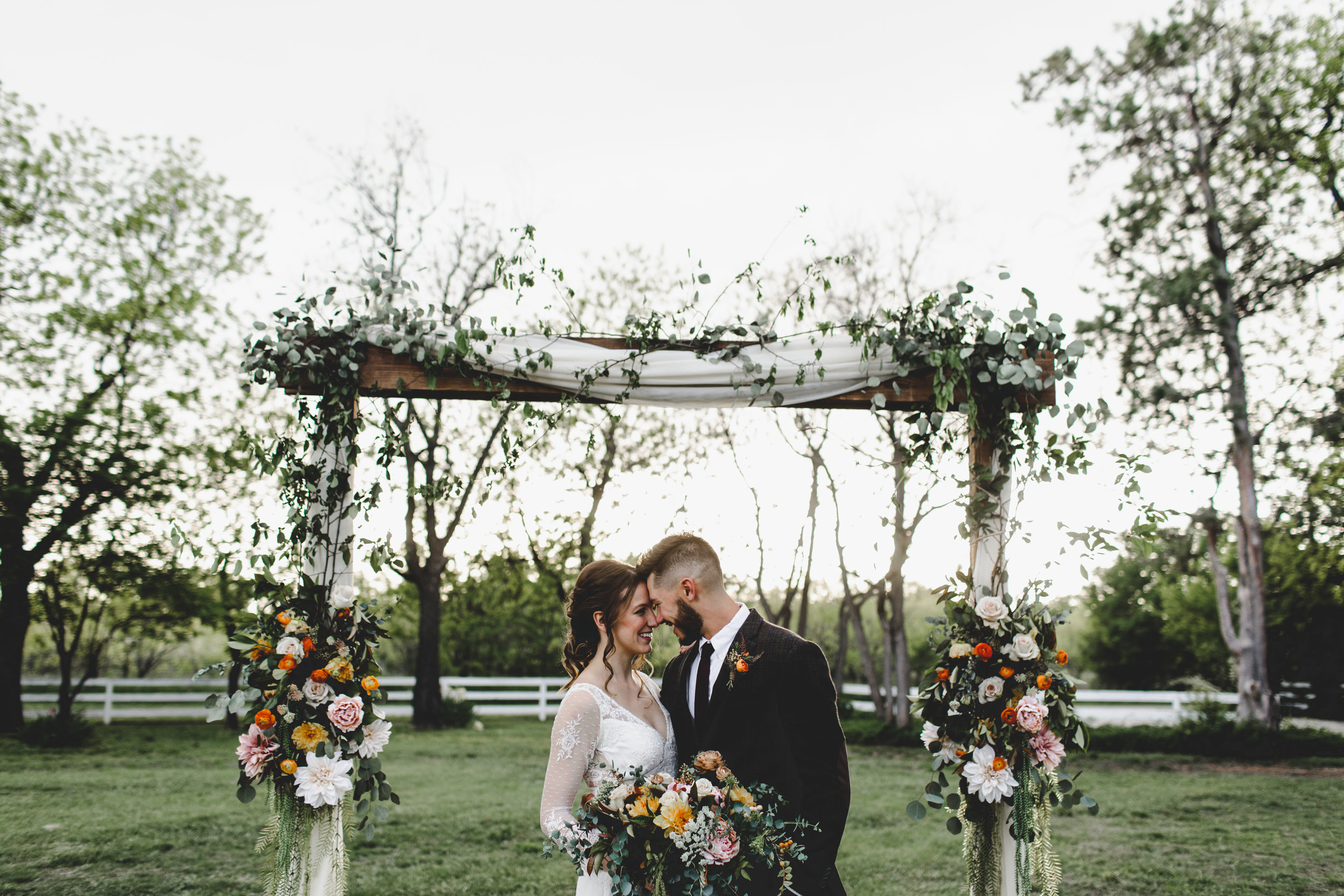 DOUBLE KNOT - Jessie Goggans is an Abilene-based photographer with a cool/matte look capturing all of the intimate and sappy emotions throughout the big day.Wedding packages start at $2,300.