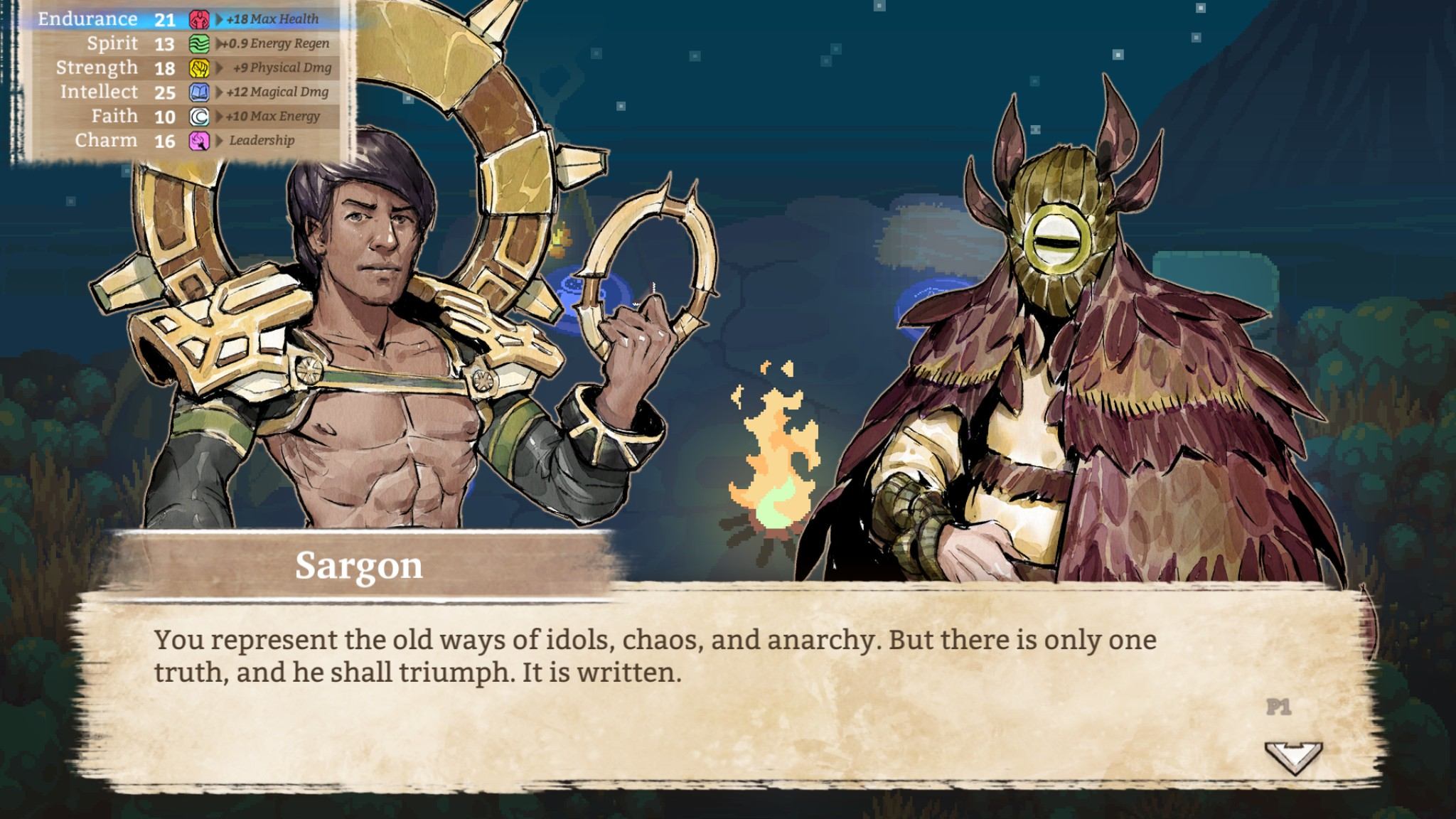 Sargon's chest is the only truth I need