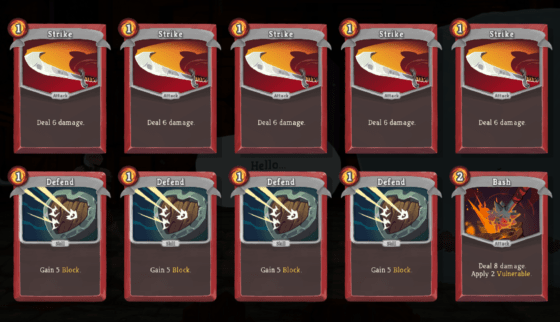 Some people on Slay the Spire forums complain they can't beat the game, and then also refuse to remove Strikes from their deck... now it won't be you!