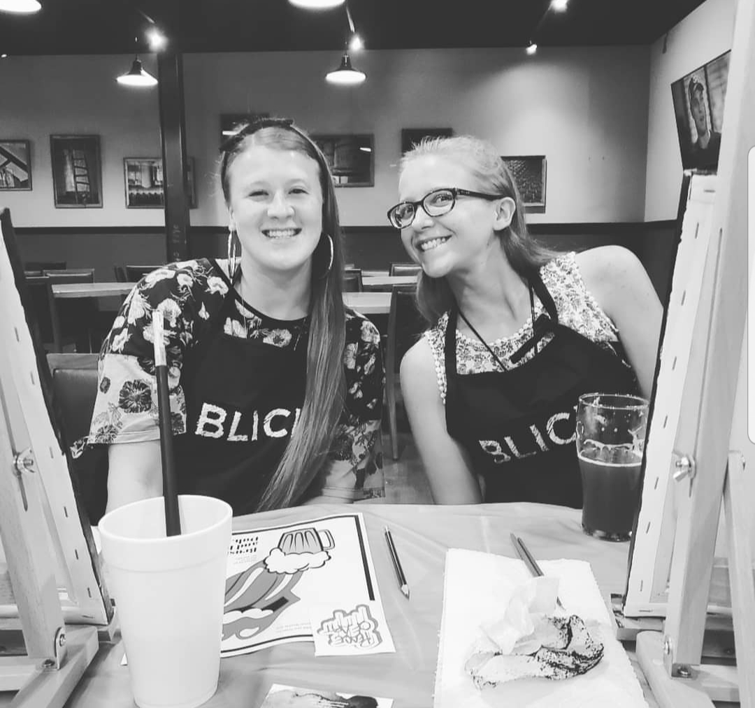 Bring a friend, it's more fun if you're painting with someone you know, or want to get to know better!