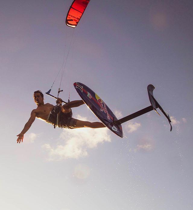 @kai_lenny taking flight. 🦅 Photo by @ryanjohnson.mov #THEHYDROFOILCOMPANY