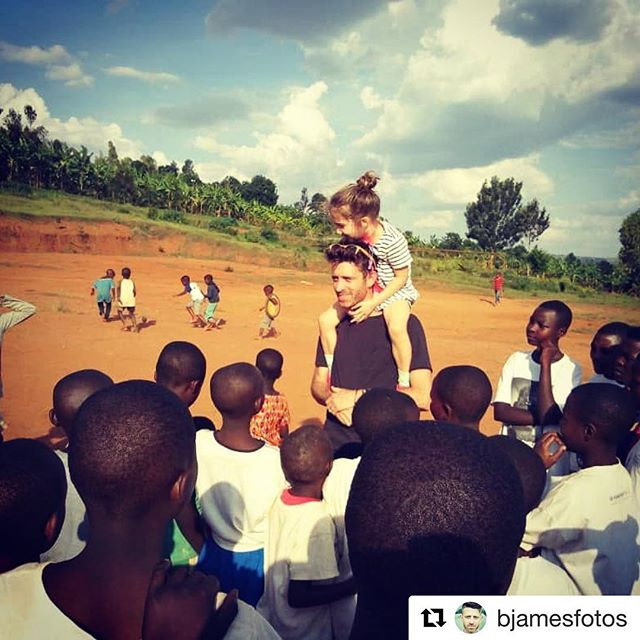 """Listen to singer-songwriter, Brendan James', four-part episode now 🔗 in bio / Follow him @bjamesfotos to see what him and his family are up to on their worldly adventures 🌏⚡️ ・・・ """"Spending time at Togetherness Cooperative in Rwanda. Penny was a hit to say the least. This is a special place that I could speak volumes about. Just imagine 11 child-run homesteads with a community school, bakery, farm, and banana plantation in the middle of it all... and that's only the tip of the iceberg:)"""" #togethernesscooperative @africanroadorg"""