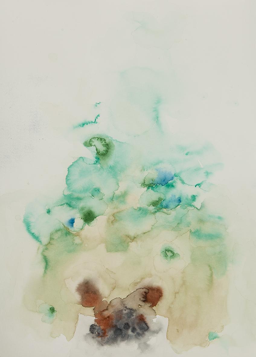 mould, 2017 | watercolours on paper, 35x27 cm