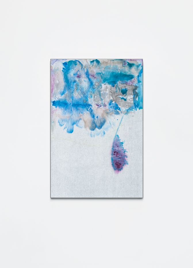 Untitled, 2016, ink on xuan paper mounted on canvas, 115x78 cm