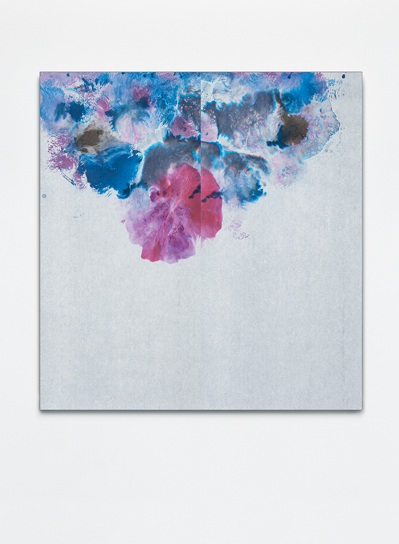 Untitled, 2016, ink on xuan paper mounted on canvas, 115x145 cm
