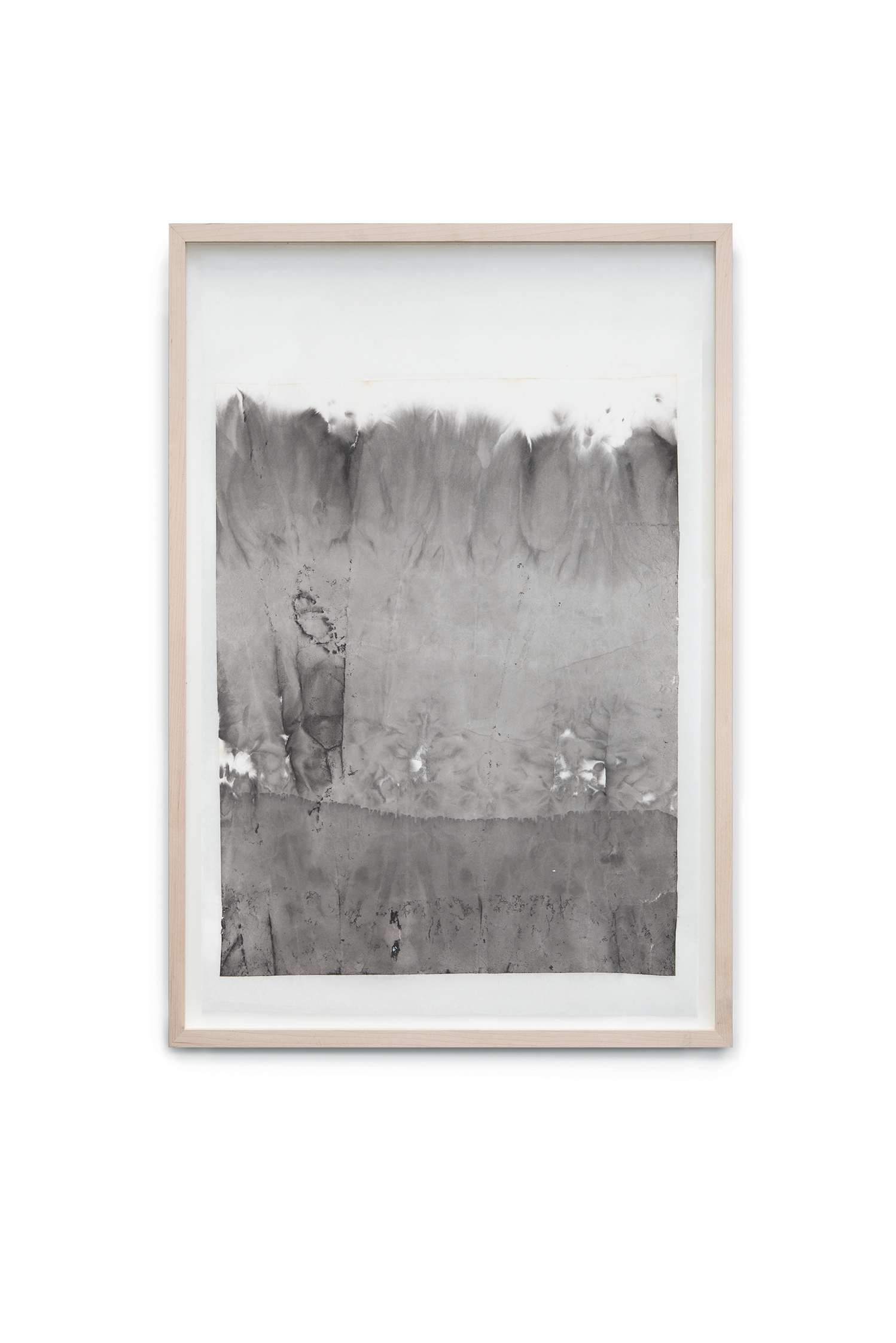 Immersion I, 2014, ink on rice paper coated on japan paper, 60x46 cm