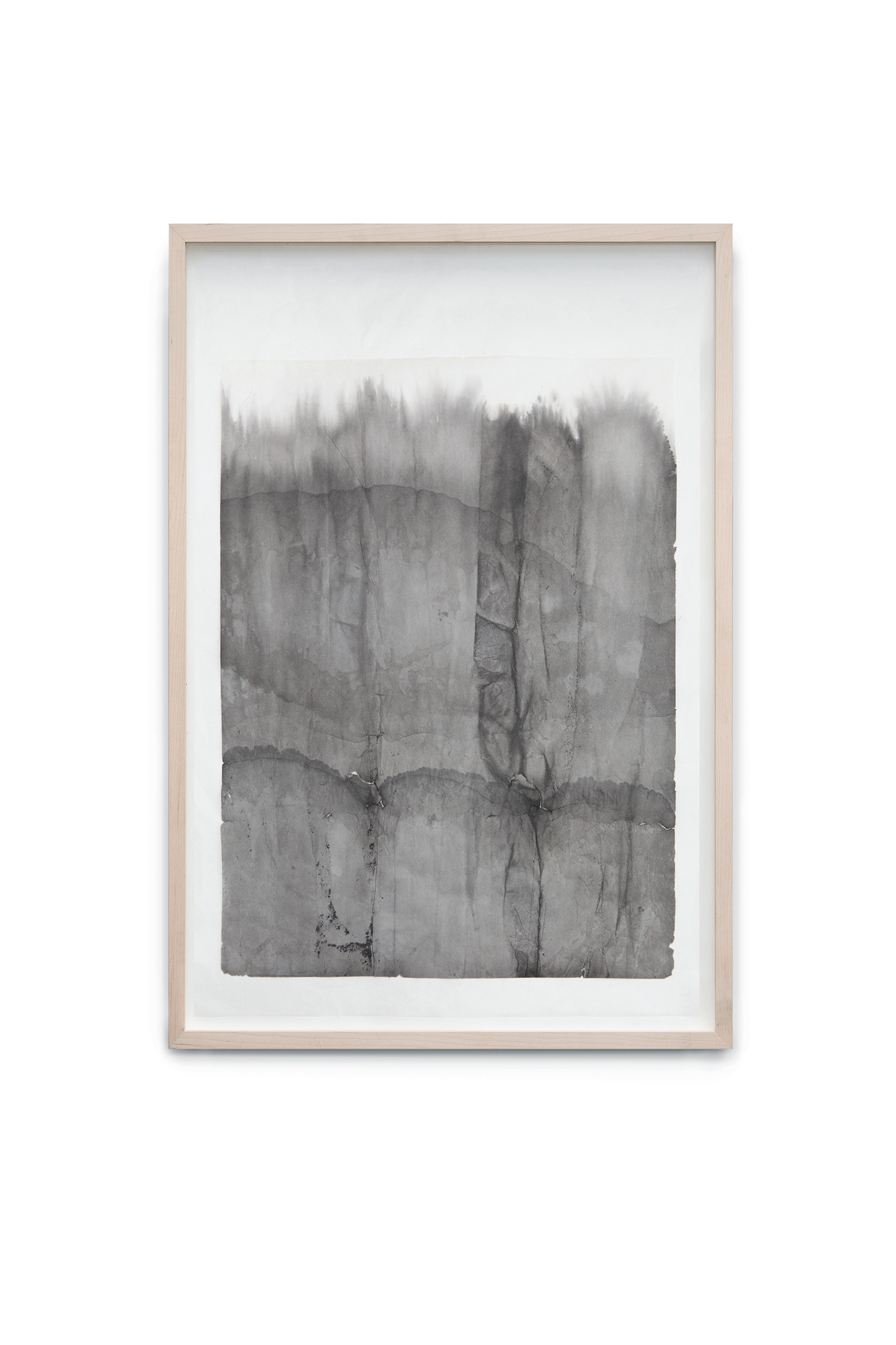 Immersion II, 2014, ink on rice paper coated on japan paper, 62x46 cm