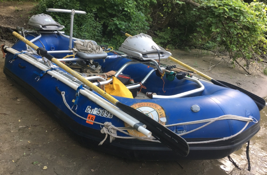 Saturn Inflatable Drift Boat