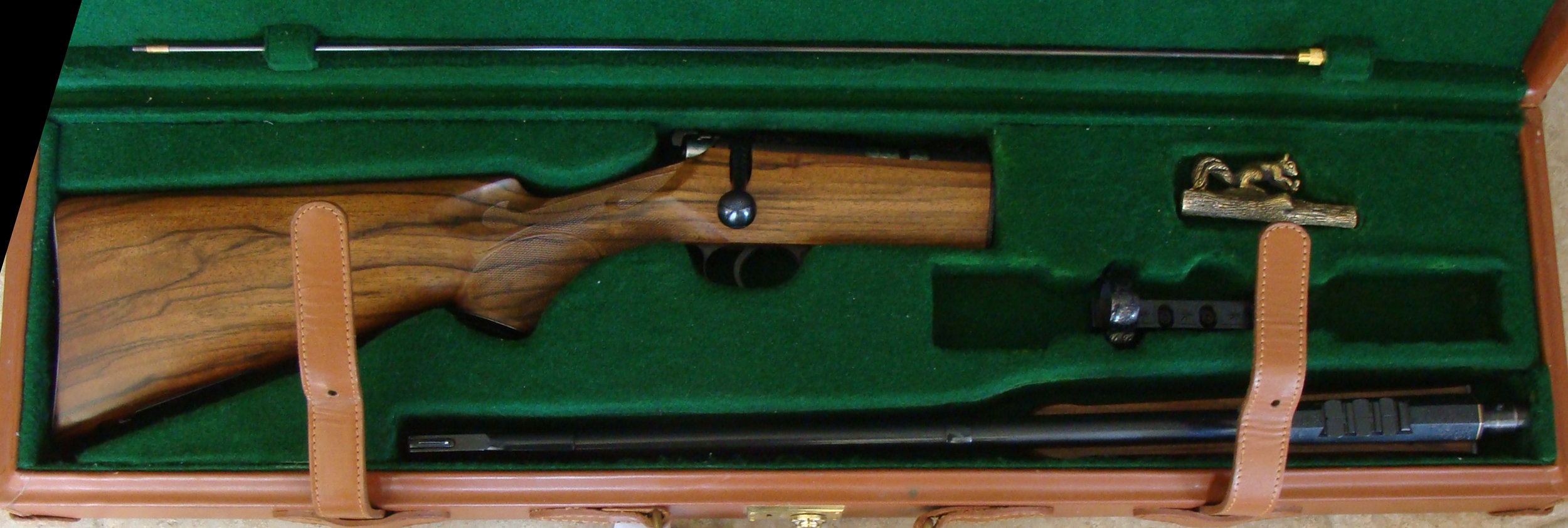 Extremely Rare One of One Fully Custom 22 Rifle Take down Highly Engraved