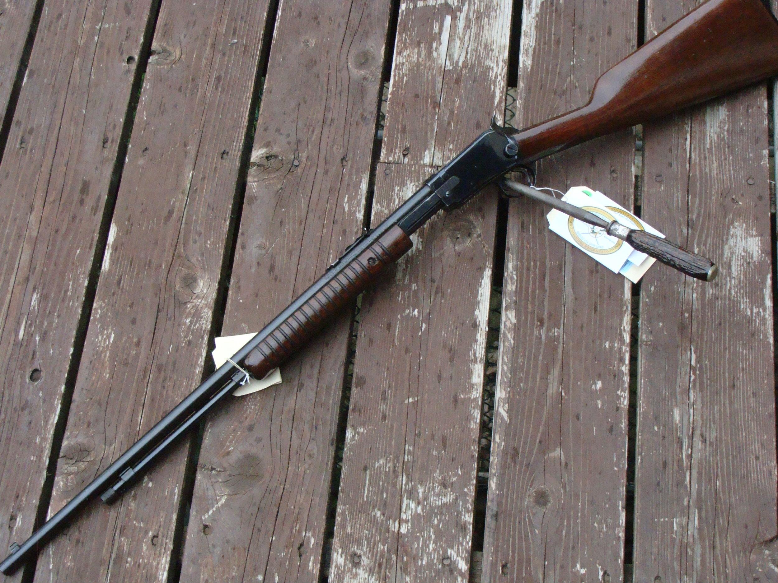 Original Winchester Model  62 .22 rifle