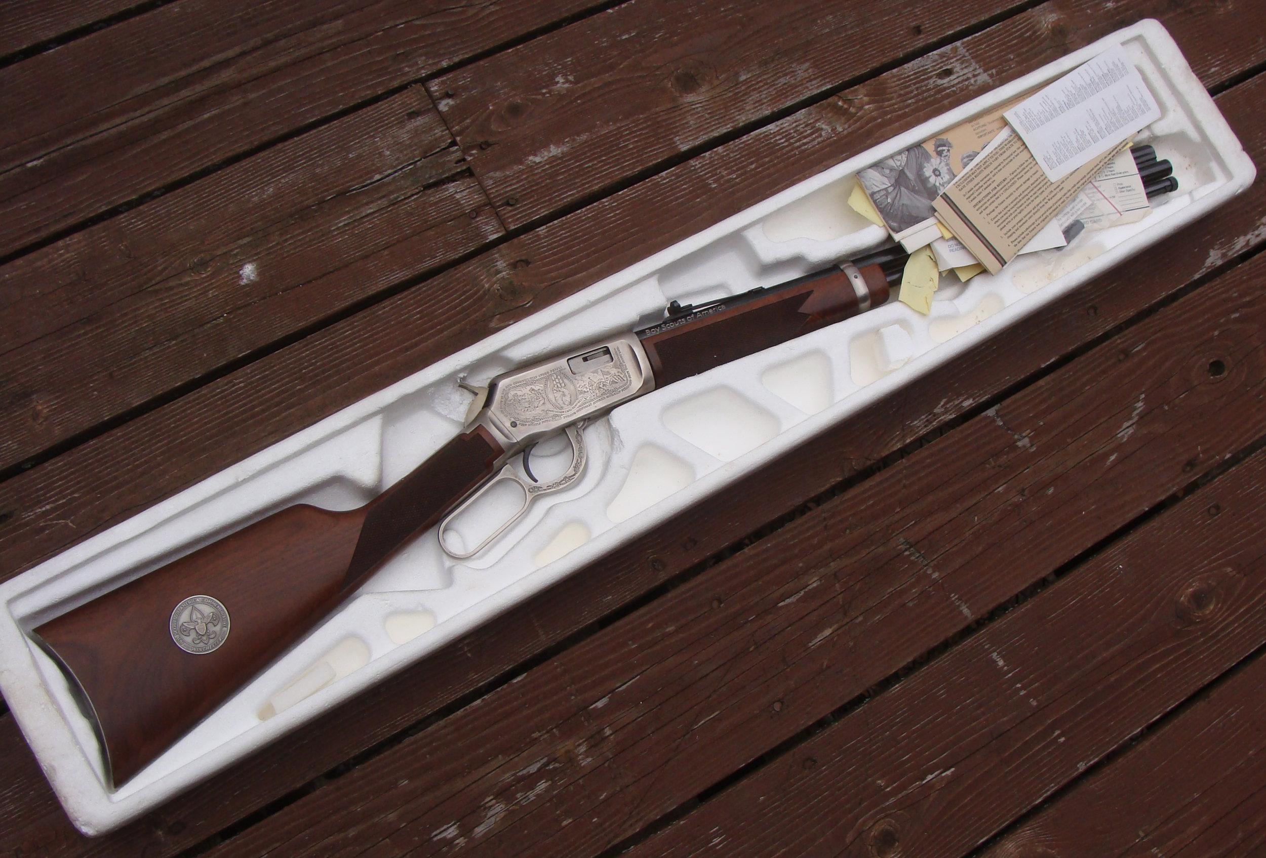 Winchester 94/22 Boy Scouts of America Edition - Rare