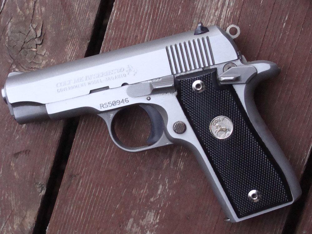 Colt Mk1V Govt Model 380