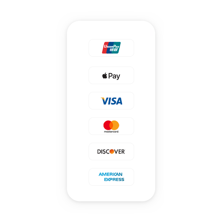 Easy and Secure Transaction - Support multi-country phone carriers. Support credit card or Apple Pay.Bilingual customer support. Communicate with your prefer language.