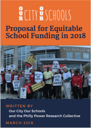 In collaboration with Our City, Our Schools, we took a deep look at the way schools in Philadelphia are funded and proposed alternative ways of making public education more equitable.