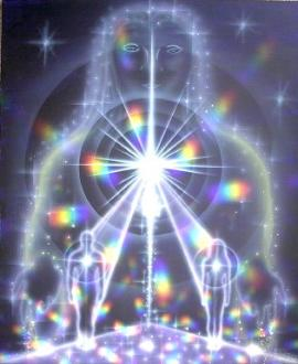 Image taken from the cover of The Pleiadian Workbook by Amorah Quan Yin