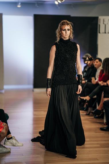 - Photographer: Stacie YueModel: Tori Fisher Accessory Designer: Dmitry Byalik Mua: Colleen Farley Hair: Jessica Klaus