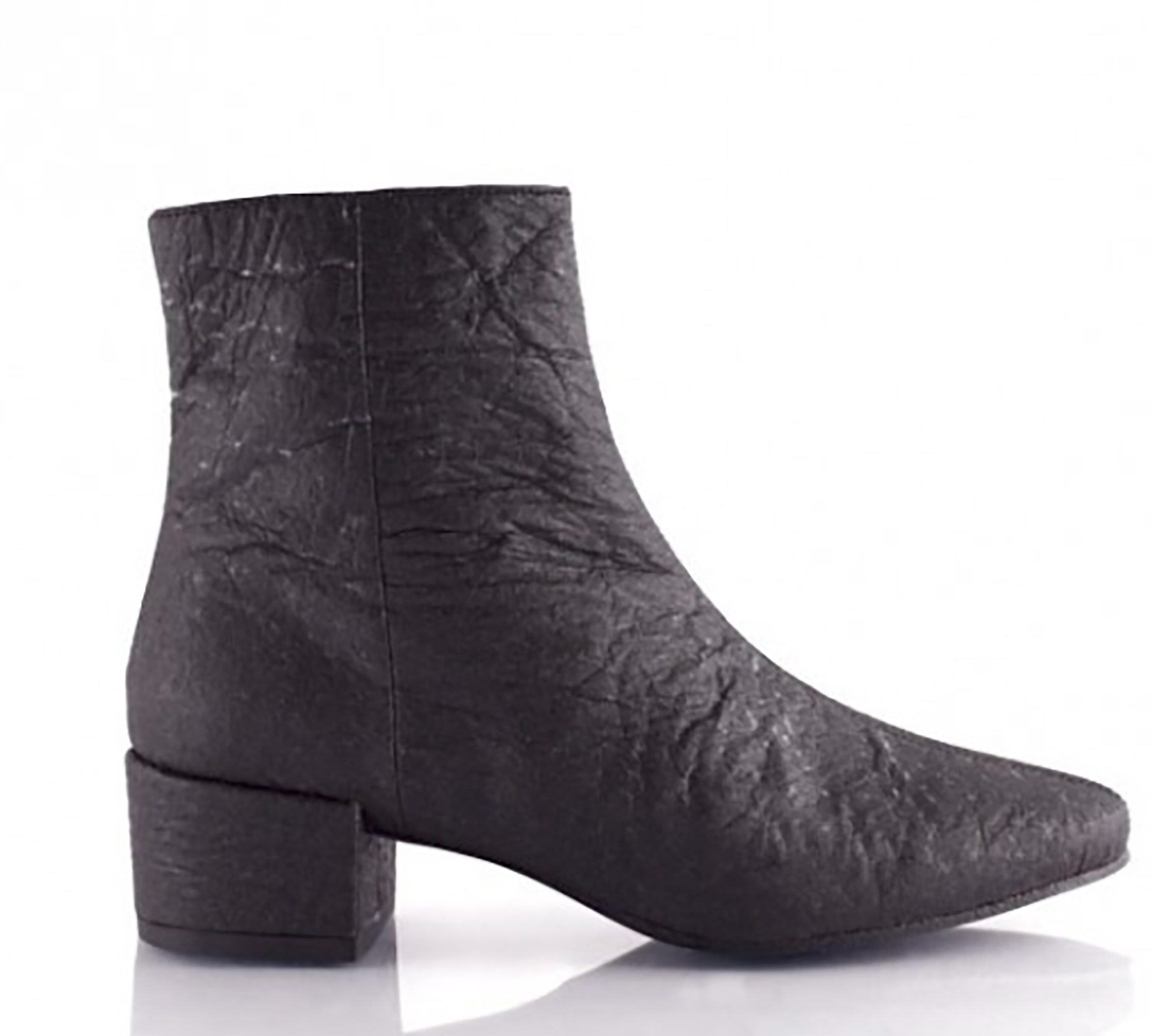 - Annie Pinatex boot by Bourgeois Boheme. Fun Fact: Founded by an ex-podiatrist and long-time vegan, this brand is Peta approved.https://us.bboheme.com/womens-black-vegan-chelsea-boot-annie.html?___SID=UInstagram:@boboheme